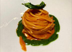 Spaghetti di Gragnano, Pomodoro San Marzano… con Vista