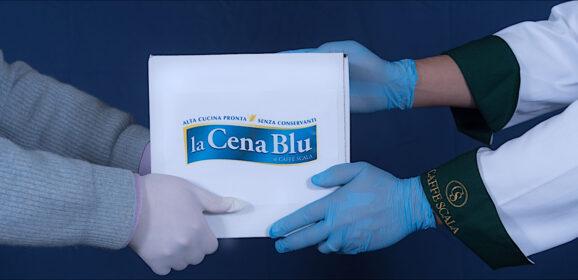La Cena Blu, piatti gourmet a domicilio