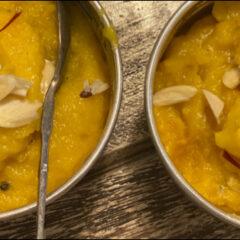 Badam Ka Halwa: la ricetta del dessert per il Diwali di Ritu Dalmia
