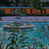 Aperitivo con tuffo in piscina ai Bagni Misteriosi